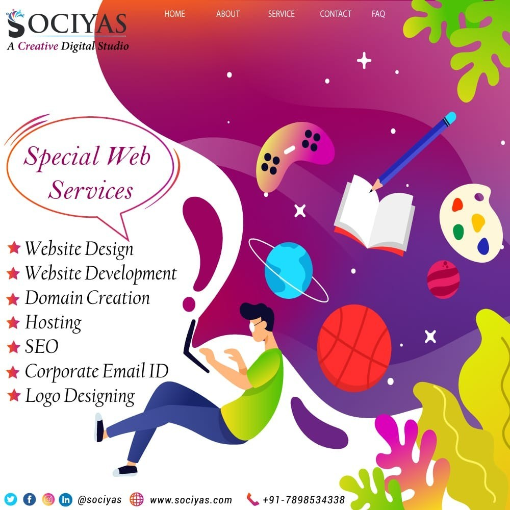 Graphics Designing Services in Indore Bhopal MP Sociyas